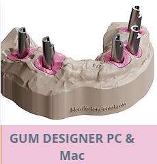 Diseño de encías Blender for Dental