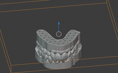 Como hacer modelos dentales Huecos.